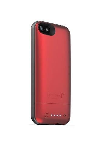 "Mophie iPhone5 Şarjlı Kılıf ""Air"" 1700 mAh, Kırmız-Mophie"